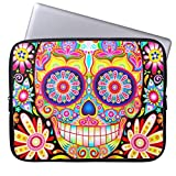 Laptop Sleeves Laptop Case Cover 17 Inch Sugar Skull Laptop Sleeve
