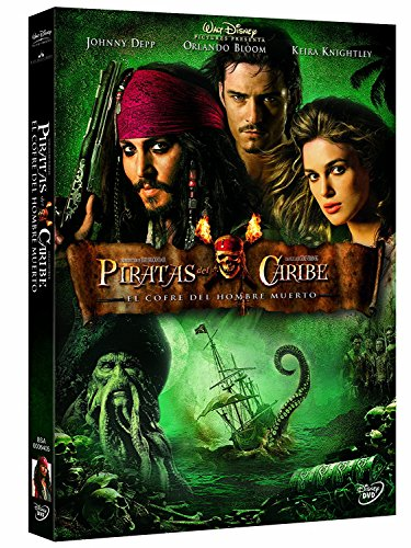 Piratas Del Caribe: El Cofre Del Hombre Muerto [DVD]