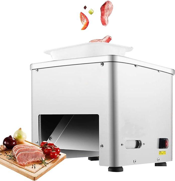 Affettatrice carne commerciale cubo tagliuzzato di carne 352lbs / h 550w newtry MQ-246