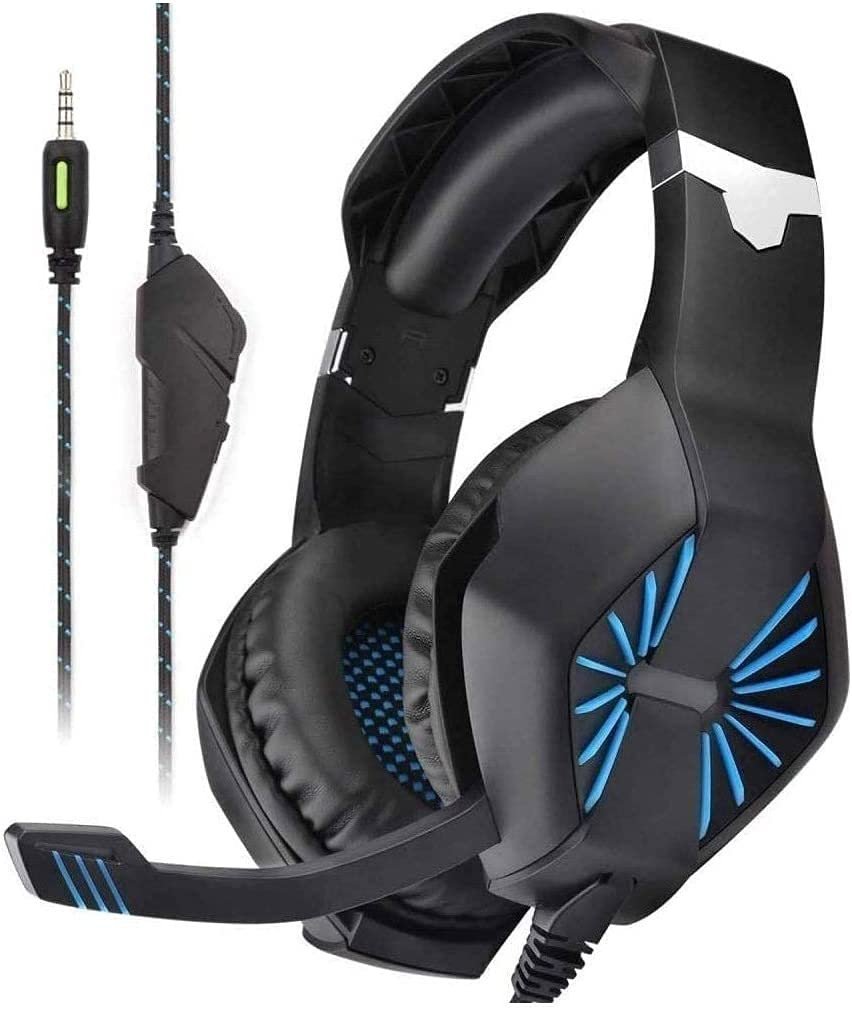 El Paso Mall Leo1996 Gaming Headset: Special price for a limited time Lightweight Frame Retractable Aluminum