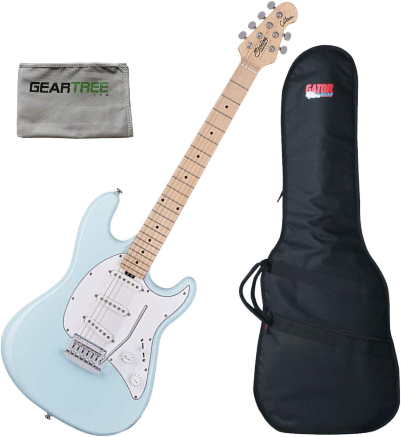 Sterling sale CT30SSSDBLM1 Cutlass SSS Columbus Mall Blue Guitar Daphne Electric