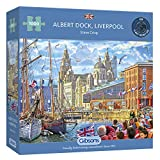 High quality 1000 piece jigsaw puzzle Made from thick, durable board that is 100% recycled Puzzle size is 49x68cm when complete Lovingly painted by Steve Read Comes with a print-out of the puzzle image.
