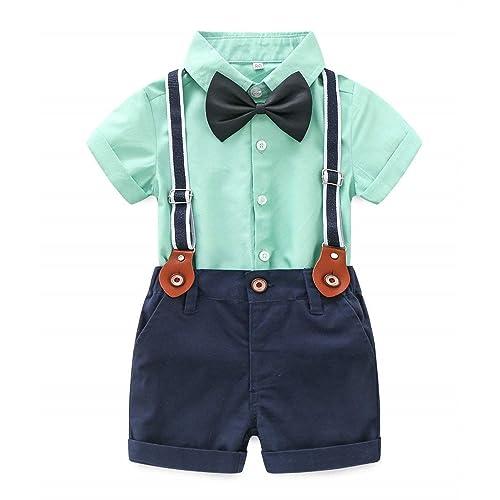 Baby Boys Two Piece Short Sleeve Pant Set Cloud Mine