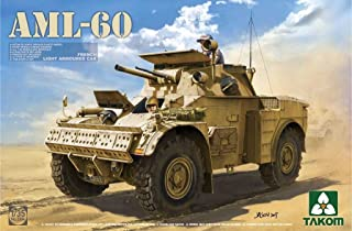 Takom 1:35 French Light Armoured Car AML-60 Plastic Model Kit #2084