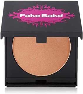 Bronzer by Fake Bake | Cream Based Bronzing Compact Provides Long-Lasting Pigmentation Results | 8 grams