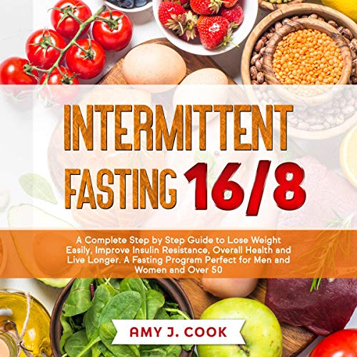 Intermittent Fasting 16/8 Audiobook By Amy J. Cook cover art