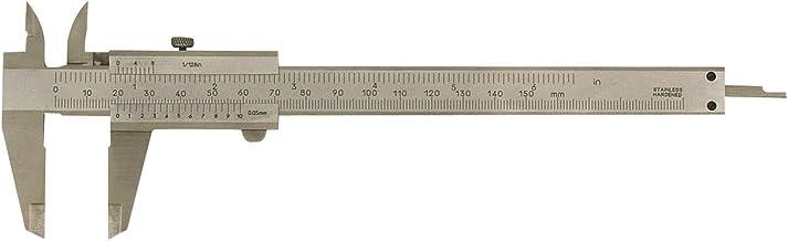 SOLIDO Schuifmaat met borgschroef DIN 862, meetbereik 0-150 mm, 1 stuk, 851011
