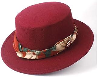 Outing Hat حجم 56-5. 8CM. الرجال النساء الأزياء شقة أعلى قبعة مع الشريط الشتاء واسعة حافة فيدورا قبعة لحم الخنزير فطيرة حز...