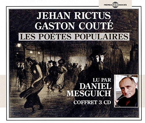 『Jehan Rictus - Gaston Couté. Les poètes populaires』のカバーアート