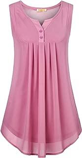 Best neon pink sleeveless blouse Reviews