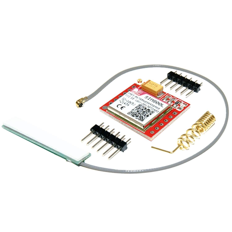 AZDelivery Modulo SIM800L GSM GPRS con Antena compatible con Arduino con E-Book incluido!