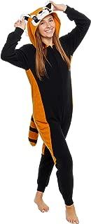 Slim Fit Animal Pajamas - Adult One Piece Cosplay Red Panda Costume