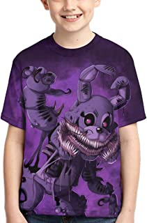 Five Nights at Freddy 3D Print Boys and Girls Fashion T-Shirts
