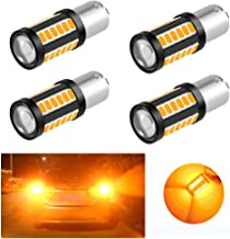 Yifengshun 1156 BAU15S PY21W amber Car LED Bulbs Front and Rear Turn Signals Super Bright 33SMD 5730 Waterproof Brake Ligh...