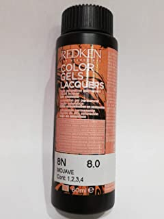 Redken Color Gels Lacquers Haircolor - 8N Mojave, 60 ml