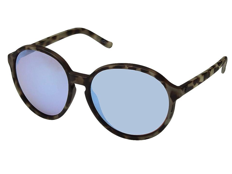 Electric Eyewear Riot (Nude Tortoise/Sky Blue) Sport Sunglasses