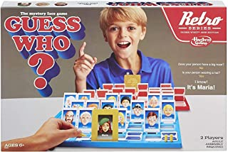Hasbro B9056 Guess Who? Game Retro Series 1988 Edition