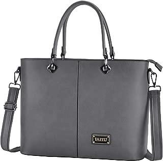 Laptop Bag, IAITU Multifunctional Briefcase Top Handle Tote Bag Womens Shoulder Bag for School Travel Office