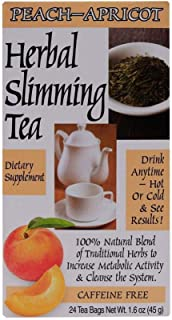 21st Century Herbal Slimming Tea-Peach-Apricot 24 Bags - 1 units