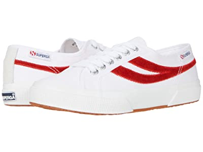 Superga 2953 Swallow Tail (White/Red) Shoes