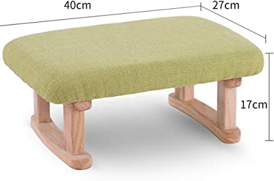 Magnificent Amazon Com Dall Footstools Solid Wood Stool Ottoman Andrewgaddart Wooden Chair Designs For Living Room Andrewgaddartcom