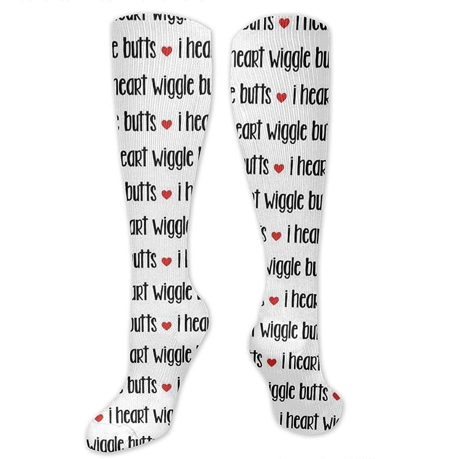 成熟した登るしばしば靴下,ストッキング,野生のジョーカー,実際,秋の本質,冬必須,サマーウェア&RBXAA I Love Dogs Socks Women's Winter Cotton Long Tube Socks Cotton Solid & Patterned Dress Socks