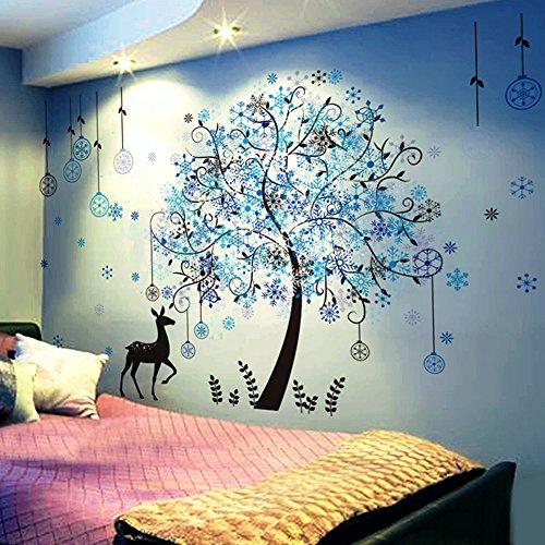 (ハッピー・ライフ)Happylife ウォールステッカー クリスマス 壁飾り 書斎 店内 壁シール ステッカー