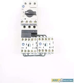ALLEN BRADLEY 191E-MND2-CB10D REVERSING ECO STARTER 120V 1/2HP 0.63-1A D574716