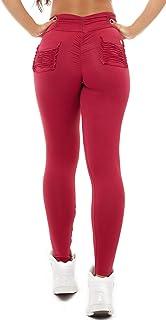 c5536d5d8dace4 Vestem Brazilian Workout Legging - Booty Up Pockets Red