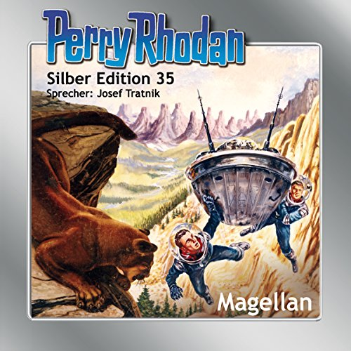 Magellan audiobook cover art