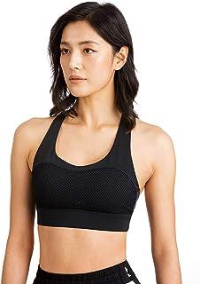 Women's Sport Bra Yoga Pants TINLUNG Yoga Bras For Women Sports Bra Crop Top Anti-Sagging Bras