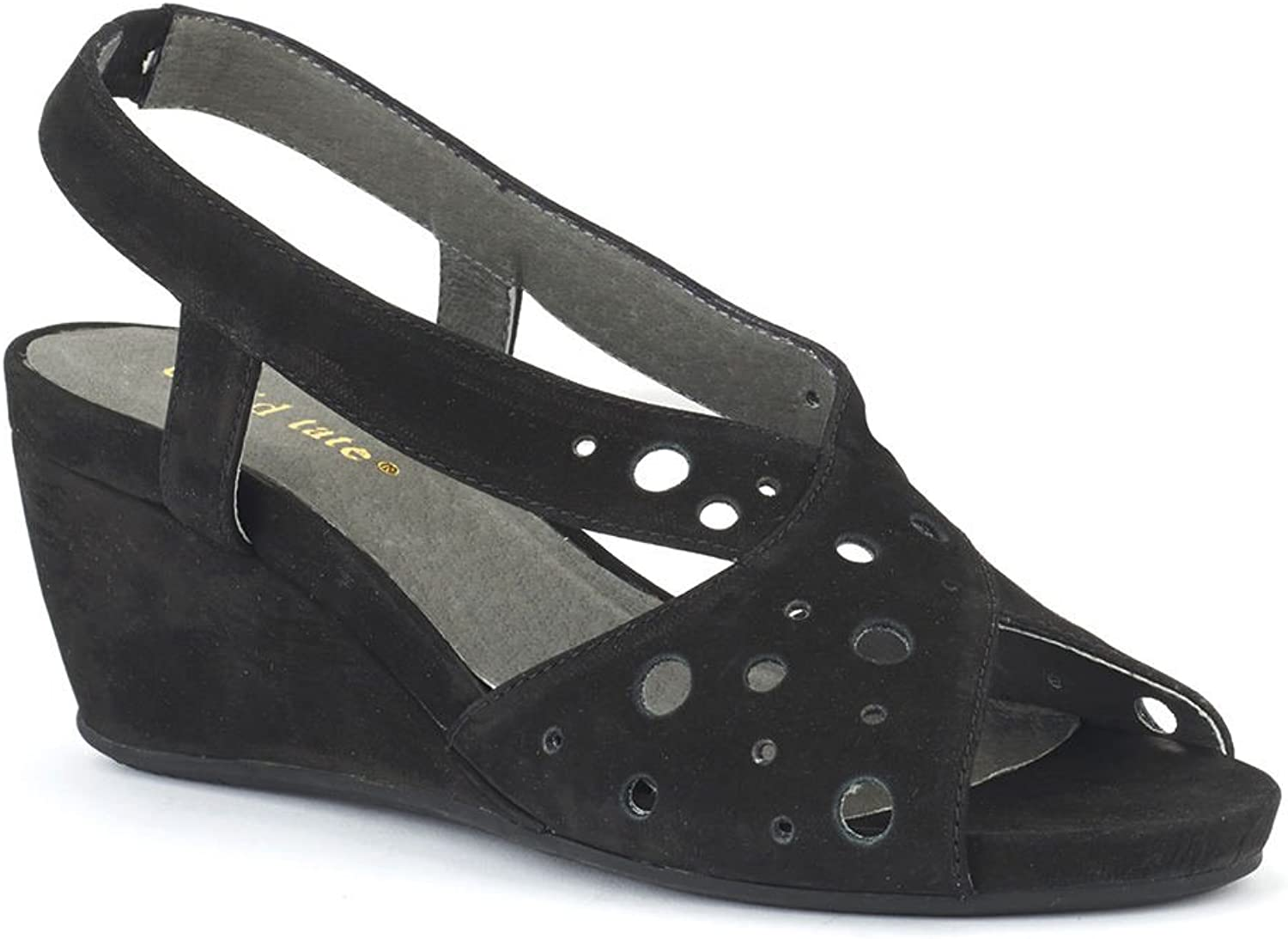 David Tate Womens Yummy Open Toe Casual Ankle Strap Sandals