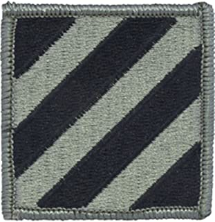 3rd Infantry Division ACU Patch Foliage Green