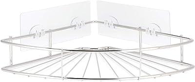 シャワーラック、中空ステンレス鋼電気メッキバスルームラック、家庭用バスルームの防錆