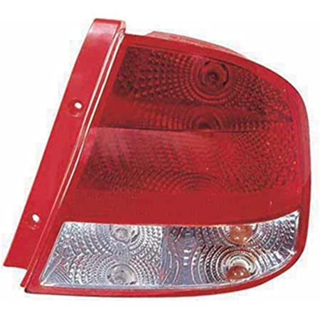 Amazon Com Chevy Aveo Replacement Tail Light Assembly Passenger Side Automotive