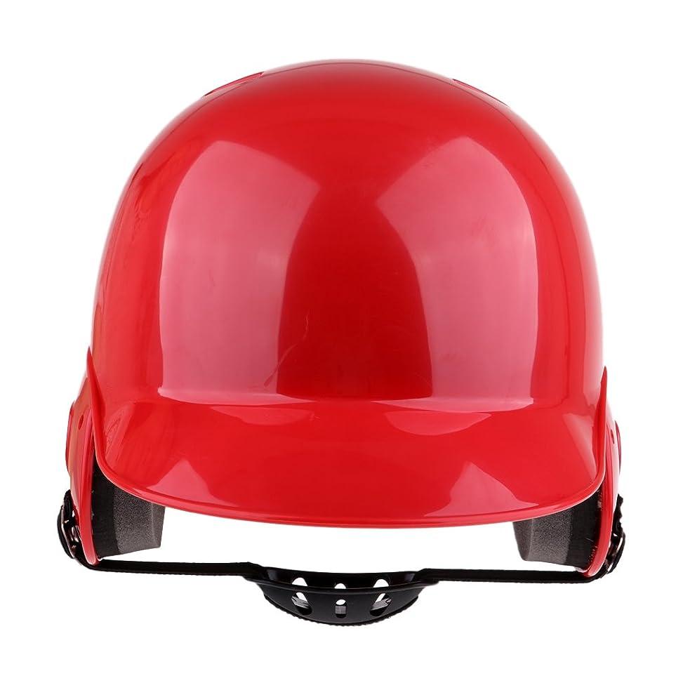 暴徒その間未使用Perfeclan 高強度 プロ 野球 ソフトボール キャザー ヘルメット ダブルラップ 打撃ヘルメット 全2色