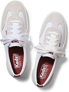 Keds Women's Tournament Retro Court Textile/Suede Fashion Sneaker