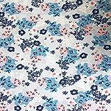 Fabric Palette Ditsy Floral - Gris - Se vende en múltiplos de 0,5 metros (100% algodón, calidad premium, 112 cm de ancho)