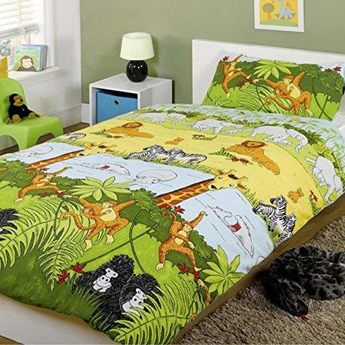Générique Parure de lit Simple Jungle Safari Cheeky Monkey