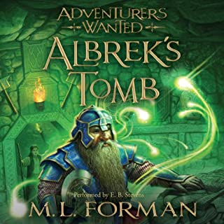 Albrek's Tomb audiobook cover art