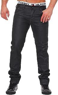 M354 MANGUE Herren Straight Jeans Hose Designer Vintage Destroyed Clubwear Style