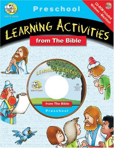 Download Preschool Learning Activities (Learning Activities from the Bible Series) 0805409823