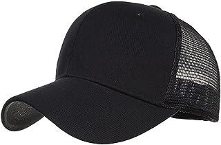friendGG ❤❤ Reine Farbe Baseball Cap, Sommer hüte Falten, hüte für Party,Sonnenhut hüte uv Schutz,hüte Erwachsene,Kappe für Herren und Damen,Sportmütze,Lässiger Hut Nettokappe