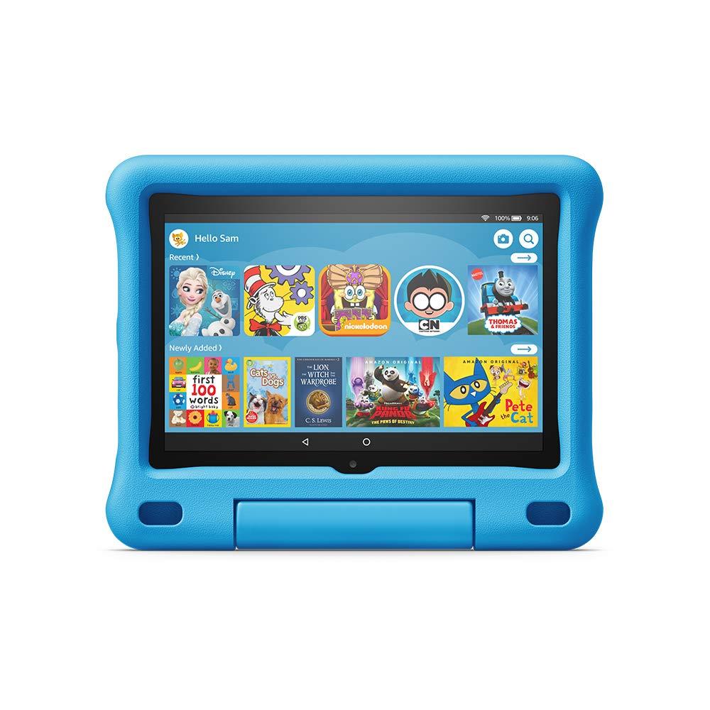 All-new Fire HD 8 Kids Edition tablet, 8 HD display, 32 GB, Blue Kid-Proof Case