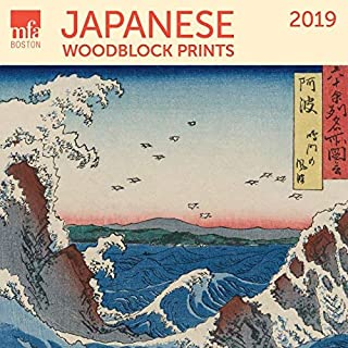 Japanese Woodblocks MFA, Boston Wall Calendar 2019 Monthly January-December 12'' x 12