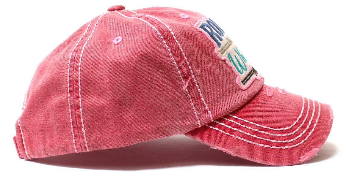 Unisex Vintage Gewaschene Baumwolle Baseball Cap halb Leer Top R/ückenfrei Pferdeschwanz Hut Lowral Baseballkappe