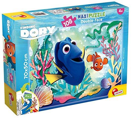 Lisciani Giochi- Puzzle 108pz Maxi Nemo And Dory 56958, Multicolore