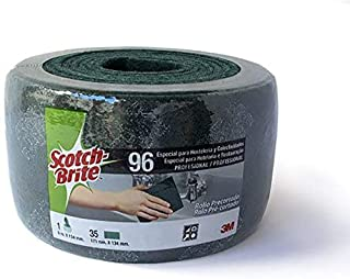 Scotch brite Rouleau de fibre pour éponge Vert 6m x 134mm