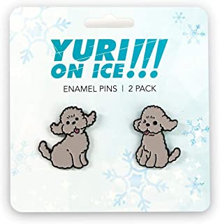 JUST FUNKY Yuri on Ice Collectibles | Yuri Poodles Collector Pin | Japanese Collection