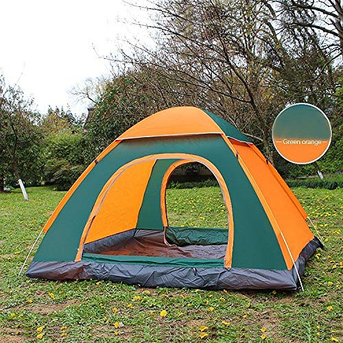 Outdoor Tent Waterproof Hiking Camping Tent Uv Protection Portable Travel Tent Pop-Up Automatic Sunshade